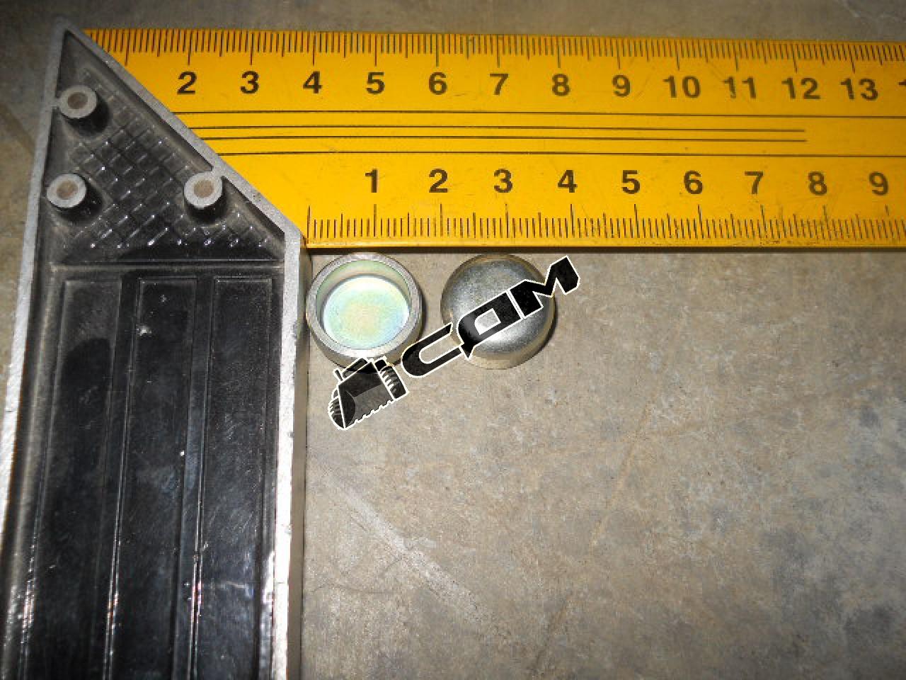 Заглушка чашечная (пробка) блока цилиндров 17х8 (Euro 3)  190003984080