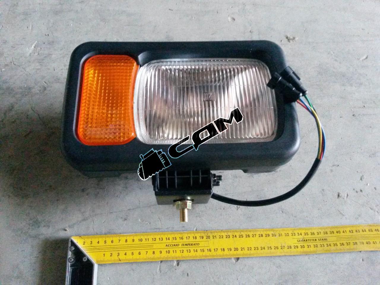 Блок-фара правая CDM835E/856D LG833B.15I.10-02